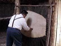 Cleaning a sealskin